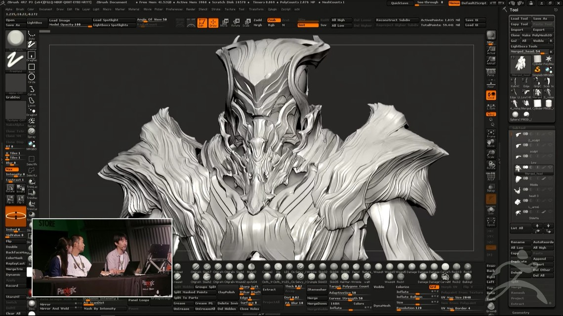 Discover Square Enix's ZBrush workflow for Kingsglaive: FFXV