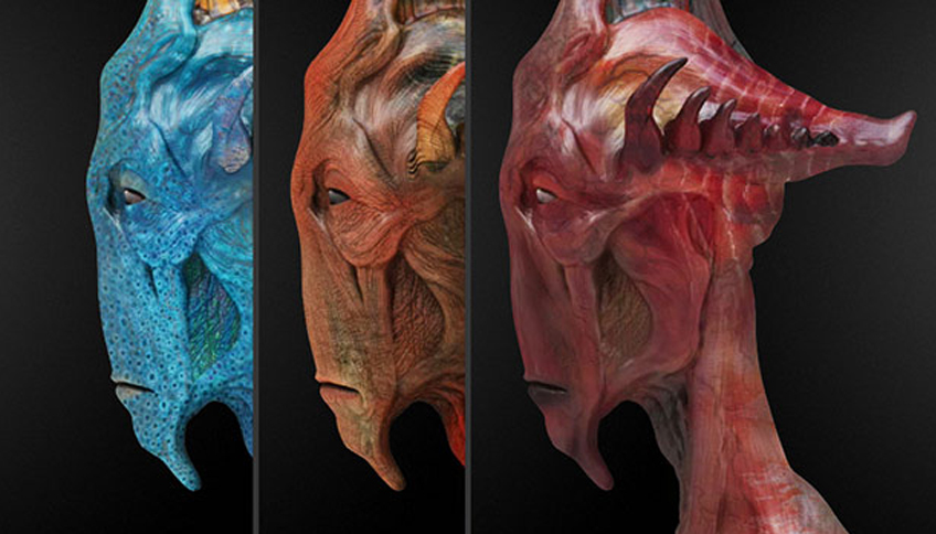 Look Development, Artwork by Alex Alvarez