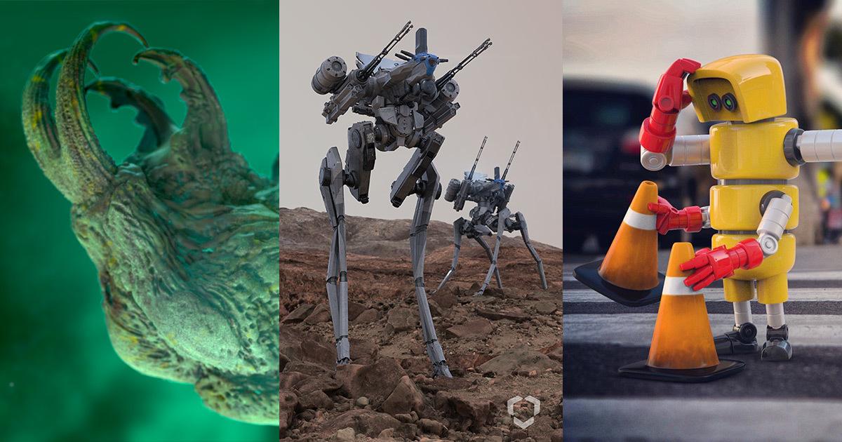 ZBrush Sculpting Workshop: Sci-Fi Design & Development | Gnomon