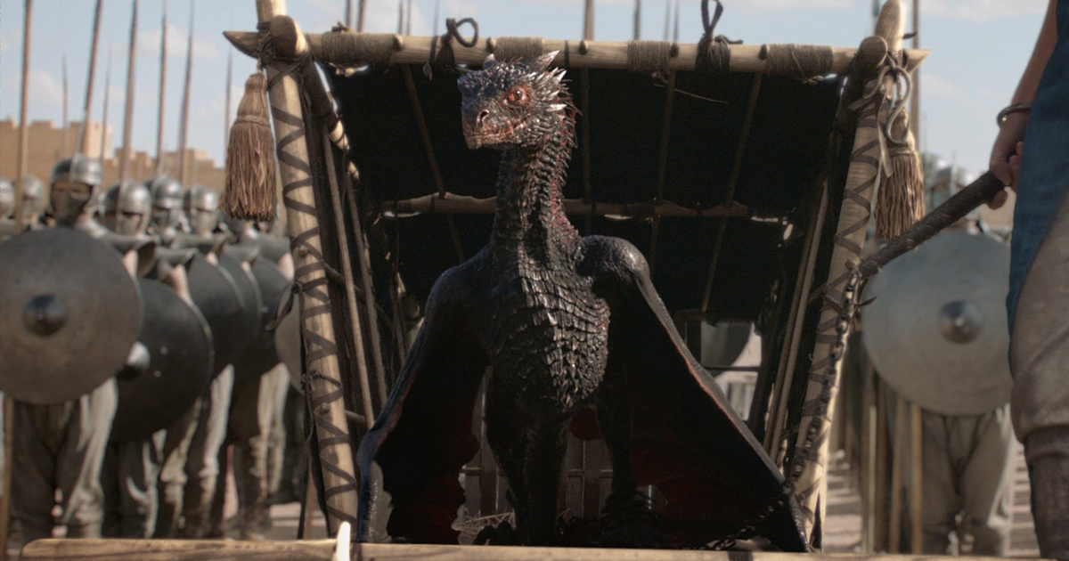 The Evolution of Game of Thrones' Dragons with Pixomondo