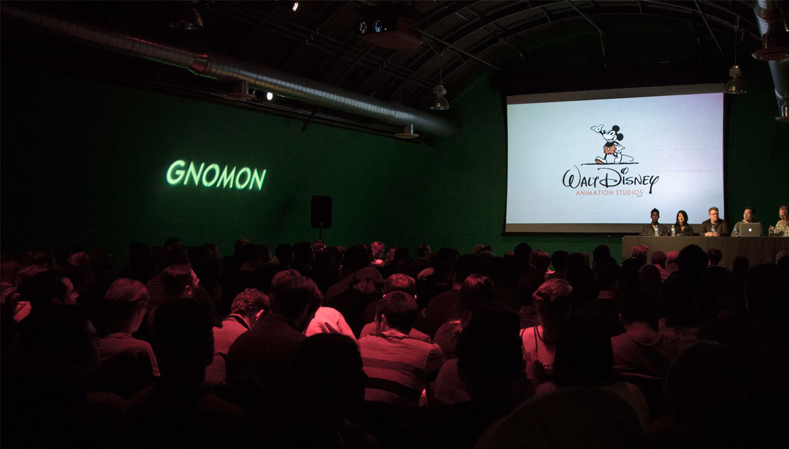 Disney Animation Studios came to Gnomon on Thursday, March 19th to showcase the process for creating the environments from Big Hero 6.