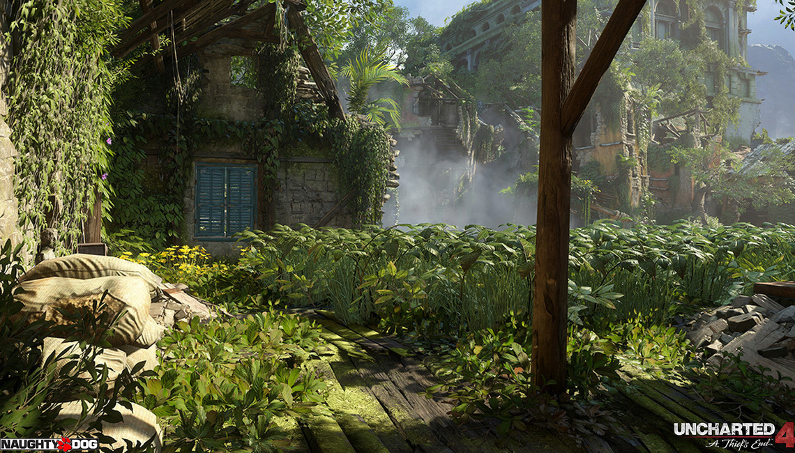 Uncharted 4: A Thief's End images courtesy of Naughty Dog.