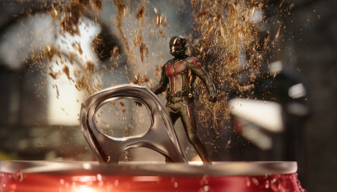 Luma Pictures' 'A Mini Marvel' spot for Coca-Cola.