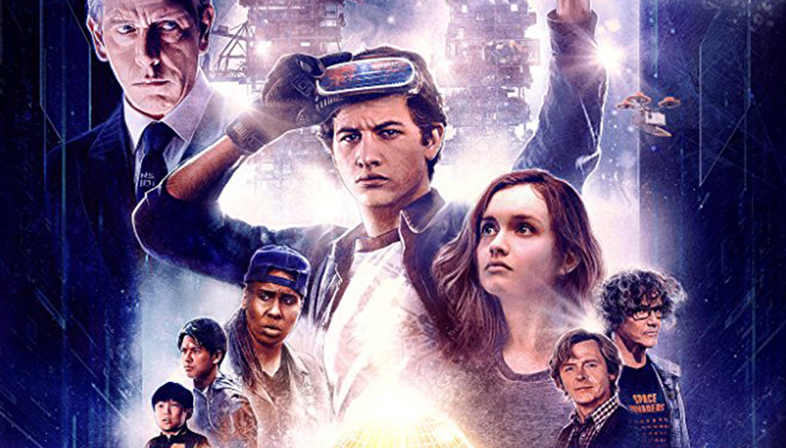 Official 'Ready Player One' movie poster. Copyright Warner Bros.