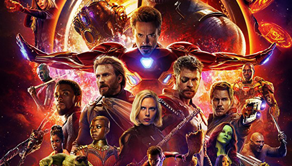 Avengers: Infinity War Official Movie Poster