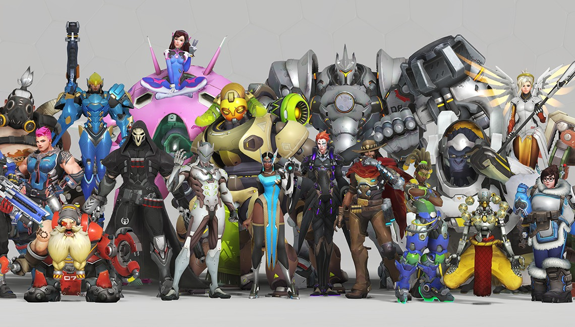 Overwatch Anniversary 2018 Heroes, courtesy of Blizzard Entertainment