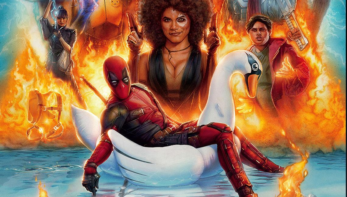 Deadpool 2 poster courtesy of 20th Century Fox