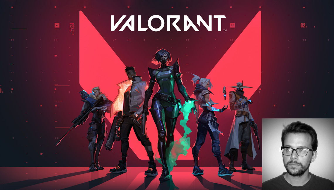 'Valorant' is an upcoming free-to-play multiplayer first-person shooter developed and published by Riot Games.