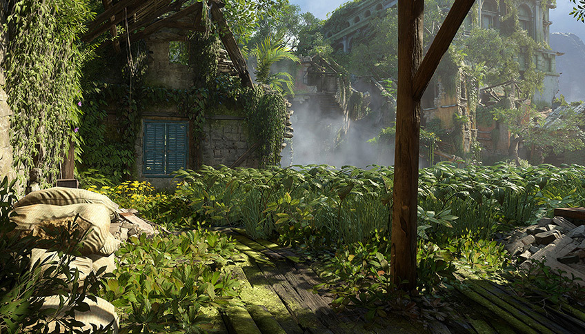 Discover Uncharted 4's Environment Art Workflow