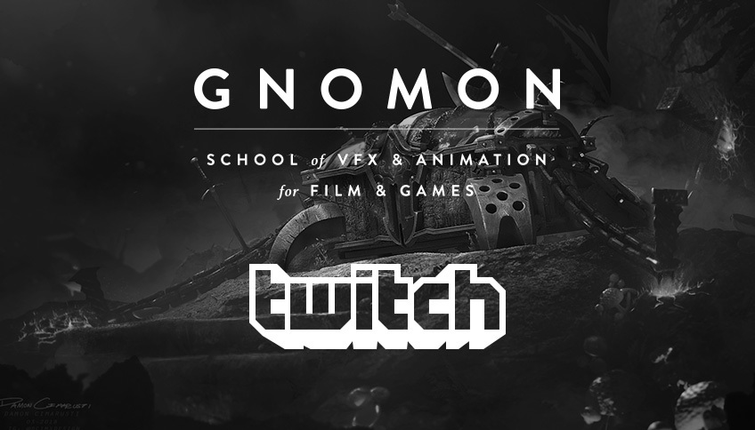 Gnomon is Launching a Twitch Channel