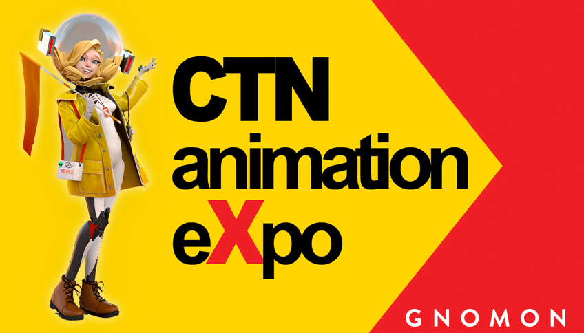 Gnomon at CTN animation eXpo 2018