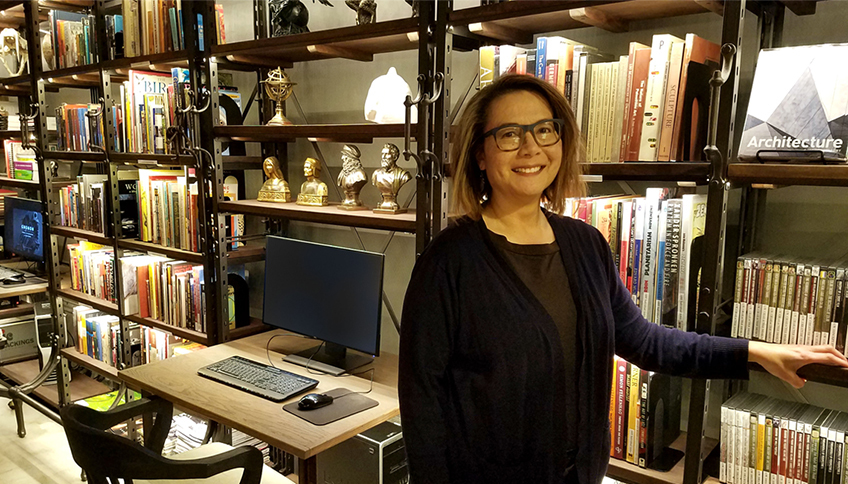 Celebrating Library Shelfie Day with Gnomon Librarian Lucy Bellamy