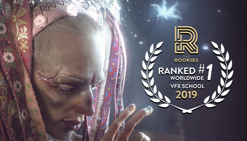 Gnomon Named School of the Year for Visual Effects by The Rookies for Third Year in a Row