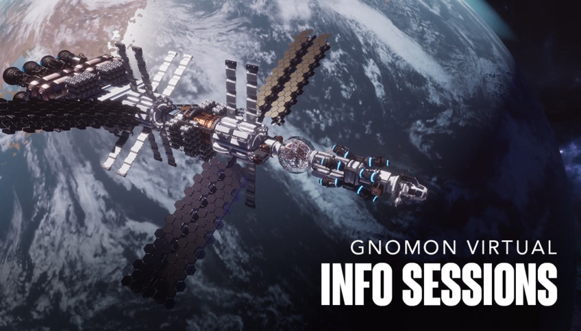 Join us on Twitch! Gnomon Launches New Virtual Info Sessions