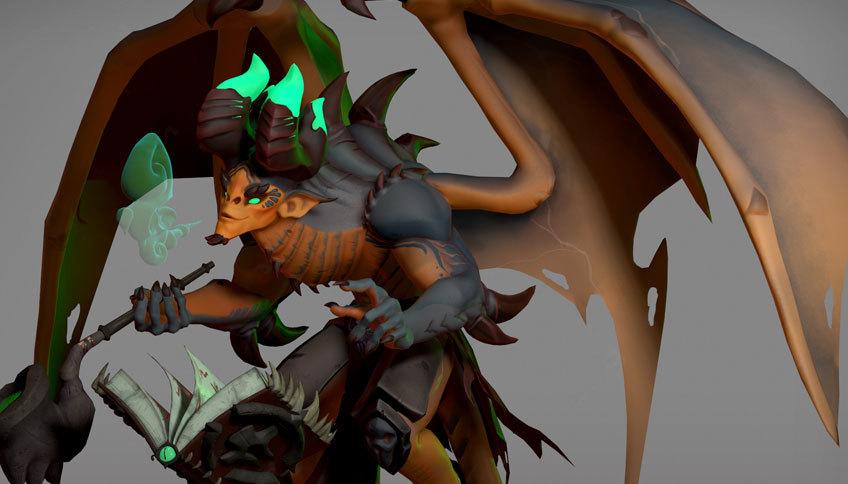 Thumb 1553883055 thumb elliestalie stylizedcharacter demon conceptbybaldikonijn